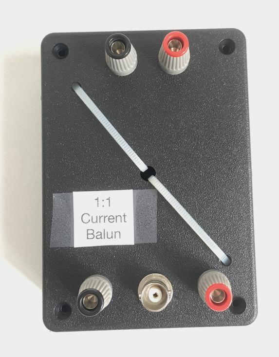1 to 1 current balun