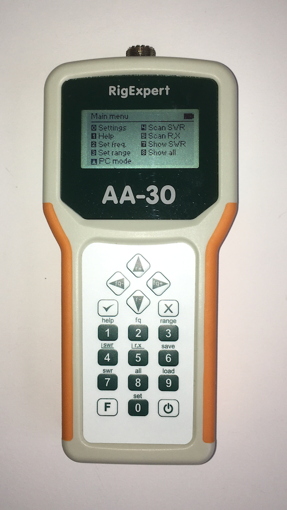 AA-30 antenna analyzer