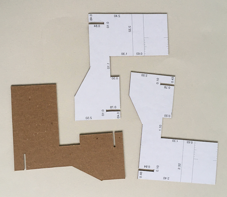 Carboard templates