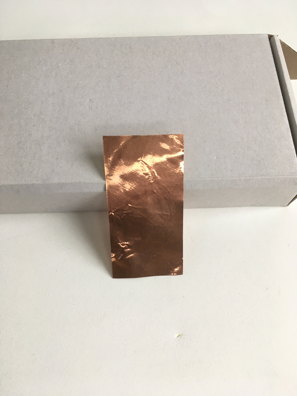 Thin copper sheet