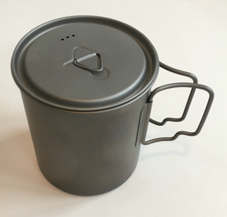 Pot with windscreen
